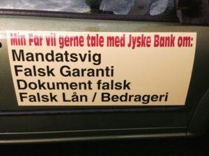 JYSKE BANK vi Lader sig ikke styre af aviserne, og gør lige hvad vi vil, for ingen kan rører jyske bank. Aktier i Jysk bank banknyt.dk kunder der gerne vil tale med jyske bank, om bedrageri, Falsk garanti, falsk lån, Svig, skal ikke forvente indrømmelser Hvorfor Nykredit dækker over jyske bank, må du spørge om i Nykredit Hvorfor Advokaterne i Lund Elmer Sandager lyver i retsforhold, må du spøger LES.DK om Hvorfor Jyske Bank nægter kunde aktindsigt, spørg Jyske bank jyske netbank er tid nede med fejl og man bliver smidt af fundament i Jyske bank ærlig hæderlig troværdig åben altså åben bil Mercedes lejebolig ejerbolig hus Superlån rådgivning penge DR KONTANT Hedgefond rentebytte swap skatte rådgivning i Jyske bank skattesvindel er bare søgeord DEN STORE PANAMA-LÆK Notat: Jyske Bank skabte 2000 selskaber for at undgå skat 17 maj 2017 bliver Jyske bank dømt for medvirken for til bedrageri i sag om svindel for 27 mio. britiske pund 230 millioner 17 maj 2017 blev Jyske bank dømt for medvirken til million bedrageri svindlet 27 mio. britiske pund eller for 230 millioner kroner Jyske bank går stille med døren Jyske Bank med milliardresultat, så hvorfor er magtpållæggende at snyde de små kunder ved at lyve over for dem om falske lån mm